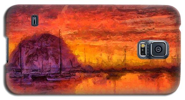 Morro Bay Marina Galaxy S5 Case