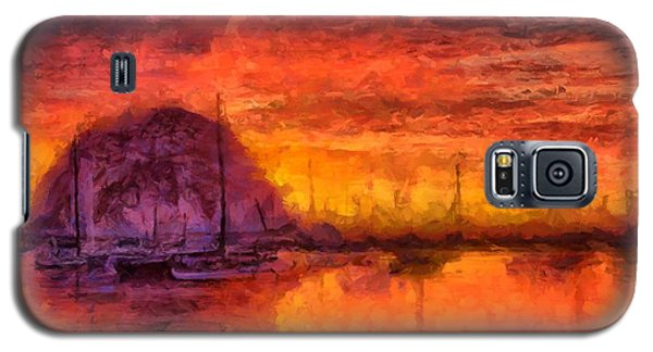 Morro Bay Marina Galaxy S5 Case