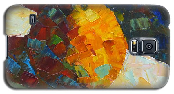 Mosaic Citrus Galaxy S5 Case