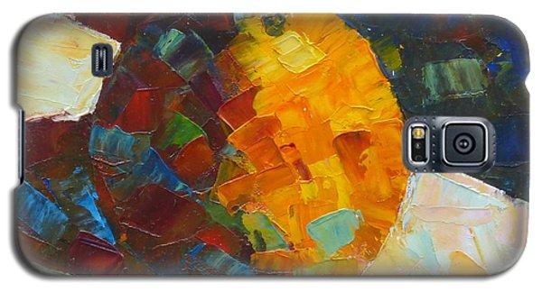 Mosaic Citrus Galaxy S5 Case