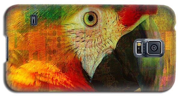 Mosaic Macaw 2016 Galaxy S5 Case