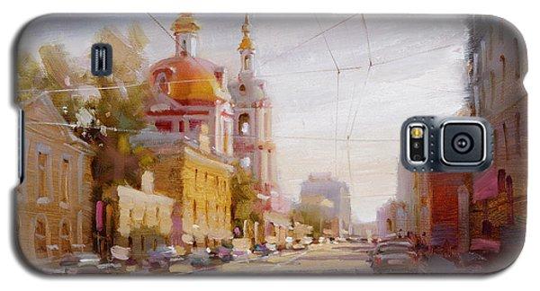 Moscow. Staraya Basmannaya Street Galaxy S5 Case by Ramil Gappasov