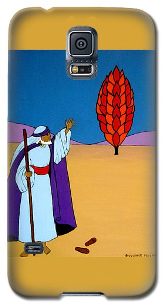 Moses And The Burning Bush Galaxy S5 Case