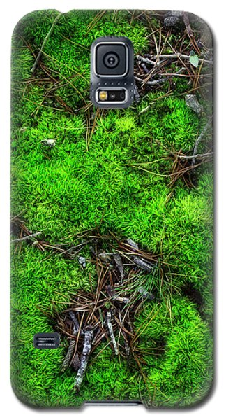 Galaxy S5 Case featuring the photograph Moss On The Hillside by Mike Eingle