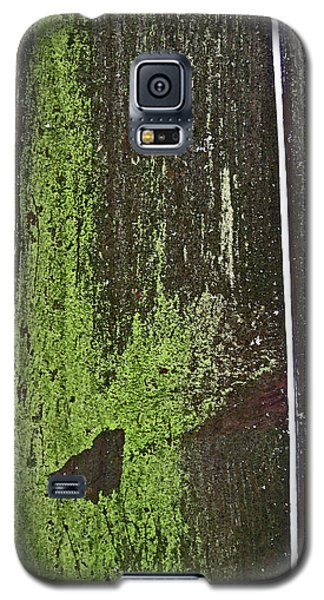 Galaxy S5 Case featuring the photograph Mossy Fence 2 by Mary Bedy
