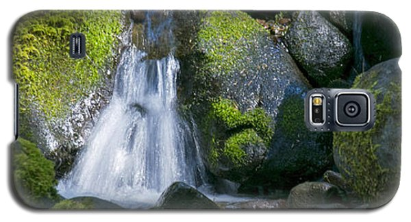Mossy Rocks Stream Galaxy S5 Case
