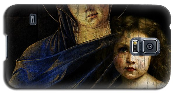 Galaxy S5 Case featuring the mixed media Mother And Child Reunion  by Paul Lovering