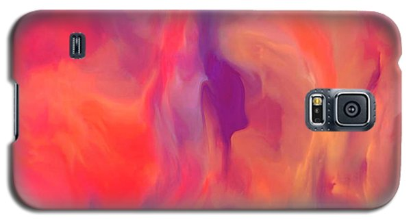 Mother And Daughter Abstract Galaxy S5 Case