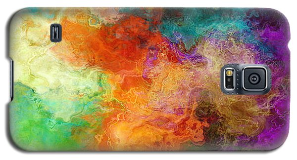 Mother Earth - Abstract Art Galaxy S5 Case