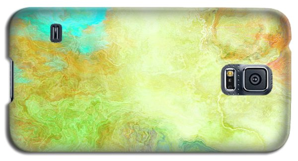 Mother Earth - Abstract Art - Triptych 1 Of 3 Galaxy S5 Case