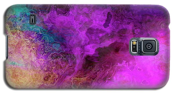 Mother Earth - Abstract Art - Triptych 3 Of 3 Galaxy S5 Case
