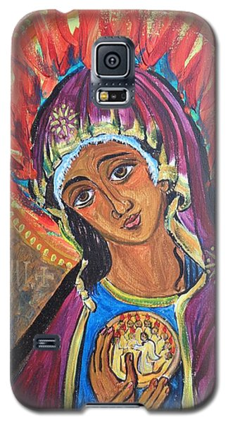 Mother Mary Of Pentecost Galaxy S5 Case