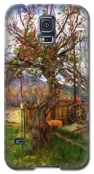 Mother Nature Twirls Galaxy S5 Case by Teri Brown