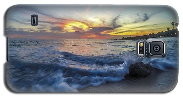 Galaxy S5 Case featuring the photograph Mother Natures Fireworks by Sean Foster