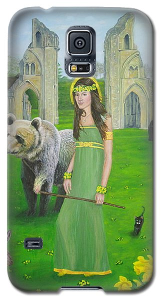 Mother Of Fire Goddess Artha - Spring Equinox Galaxy S5 Case