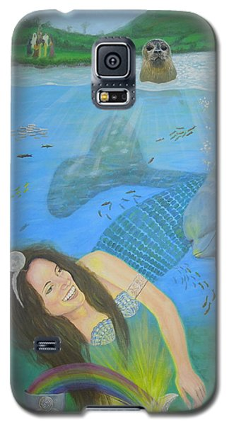 Mother Of Water Goddess Domnu - Summer Solstice Galaxy S5 Case