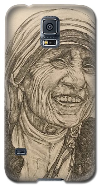 Religious Galaxy S5 Case - Mother Theresa Kindness by Kent Chua