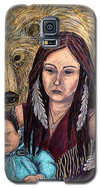 Motherhood-guardian Spirits Galaxy S5 Case