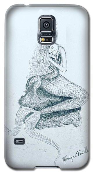Motherhood Mermaid Galaxy S5 Case