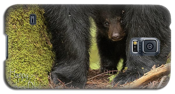 Mothers Day Bear Card Galaxy S5 Case by Everet Regal