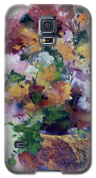 Mother's Day Floral Galaxy S5 Case by Helen Harris