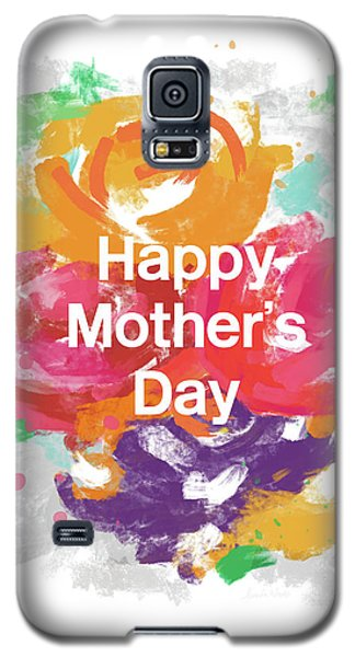 Mother's Day Roses- Art By Linda Woods Galaxy S5 Case by Linda Woods