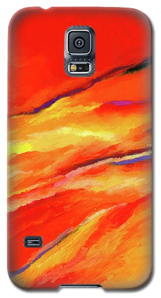 Galaxy S5 Case featuring the painting Motivation by Stephen Anderson