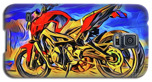 Motorcycle 21018 Galaxy S5 Case