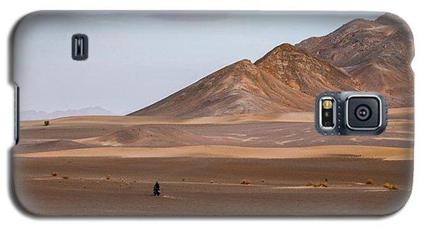 Motorcycles In Persian Desert Galaxy S5 Case