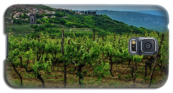 Motovun And Vineyards - Istrian Hill Town, Croatia Galaxy S5 Case