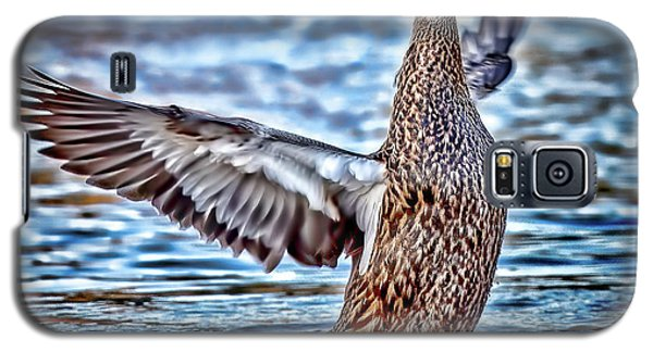 Mottled Duck Takeoff Galaxy S5 Case