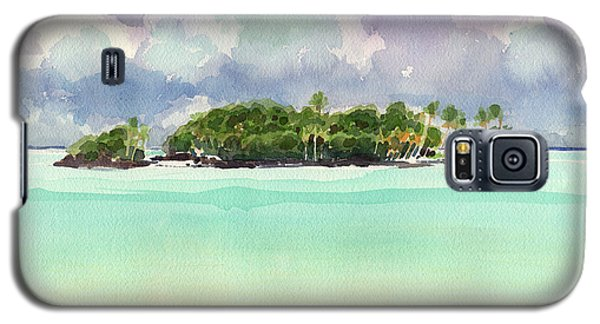 Motu Rapota, Aitutaki, Cook Islands, South Pacific Galaxy S5 Case