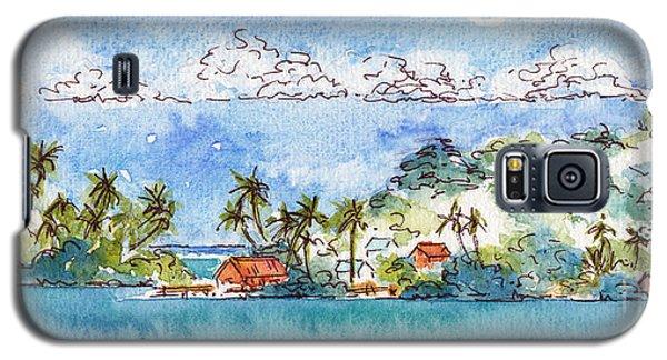 Motu Toopua Bora Bora Galaxy S5 Case