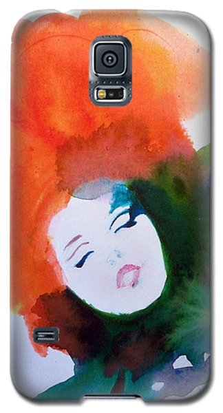 Galaxy S5 Case featuring the painting Moulin Rouge by Ed  Heaton