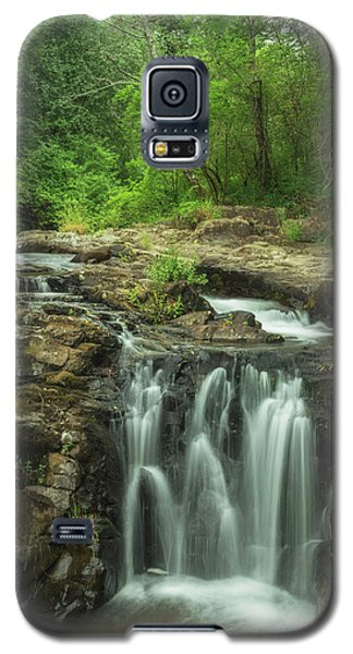 Galaxy S5 Case featuring the photograph Yacolt Falls by Angie Vogel