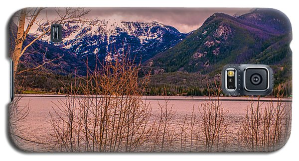 Galaxy S5 Case featuring the photograph Mount Baldy From Point Park by Tom Potter