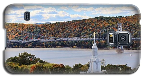Mount Carmel And The Mid Hudson Bridge Galaxy S5 Case