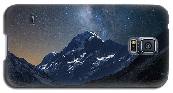 Mount Cook At Night Galaxy S5 Case