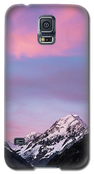 Mount Cook Sunset Galaxy S5 Case
