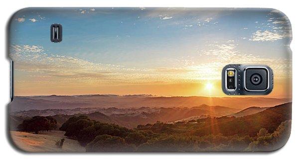 Mount Diablo Sunset Galaxy S5 Case