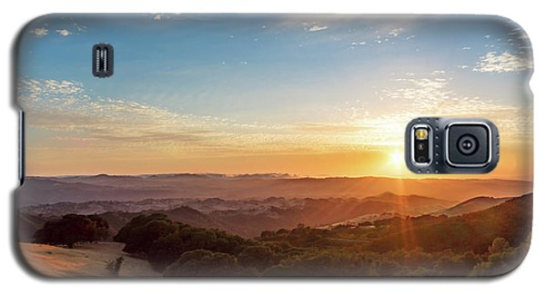Mount Diablo Sunset Galaxy S5 Case