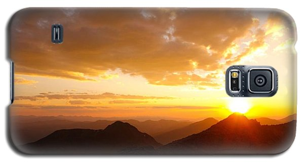 Mount Evans Sunset Galaxy S5 Case