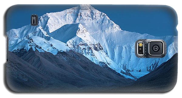 Mount Everest At Blue Hour, Rongbuk, 2007 Galaxy S5 Case