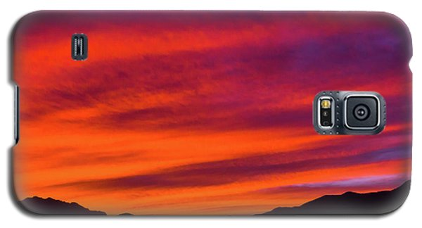Mount Franklin Purple Sunset Galaxy S5 Case