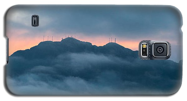 Mount Franklin Stormy Winter Sunset Pano Galaxy S5 Case