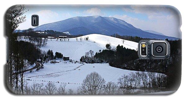 Mount Jefferson Winter Galaxy S5 Case
