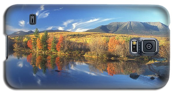 Mount Katahdin From Abol Bridge Galaxy S5 Case