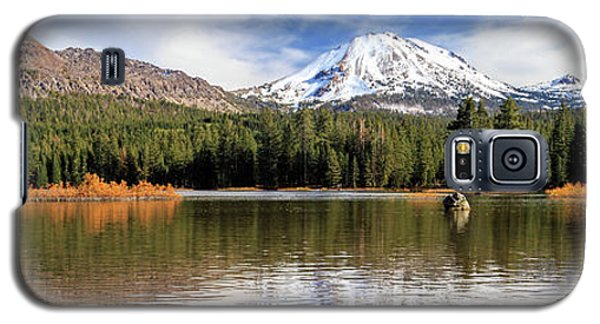Galaxy S5 Case featuring the photograph Mount Lassen Autumn Panorama by James Eddy