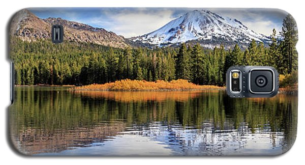Mount Lassen Reflections Panorama Galaxy S5 Case by James Eddy