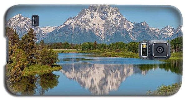 Mount Moran On Snake River Landscape Galaxy S5 Case